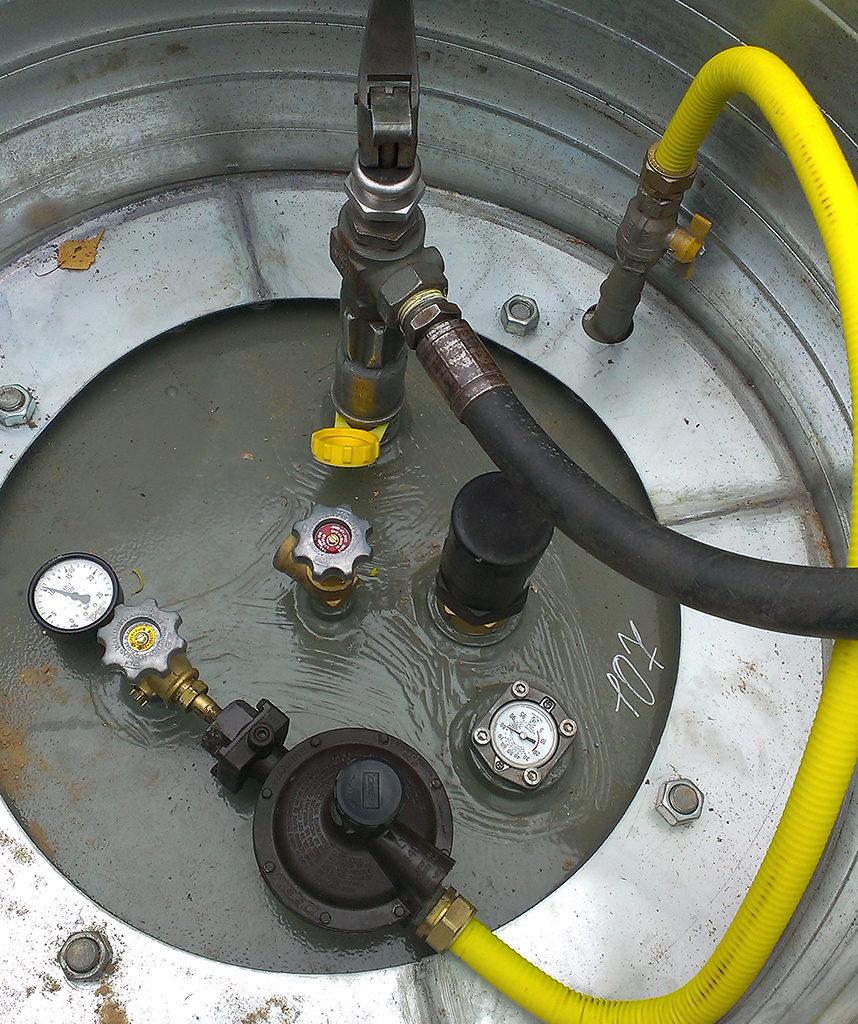 Правила подбора газгольдера